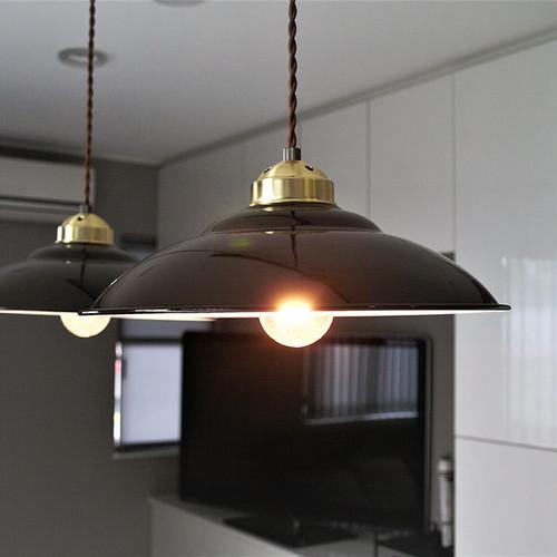ペンダントライト ランプ 照明 Tikka(ティッカ) ホーロー 琺瑯 LED対応