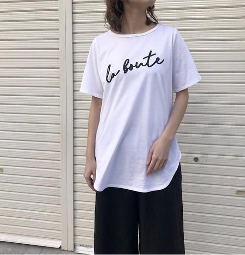4月中旬〜下旬入荷●【 siro de labonte 】- R123214 - la bonte ラウンドTシャツ