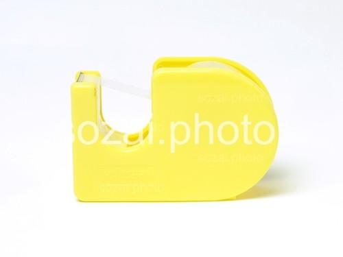 【D-parts_04】写真素材(セロハンテープ黄色アングル違い3点セット)