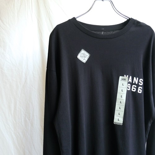 【NEW】VANS 両面プリント ロングスリーブ Tシャツ