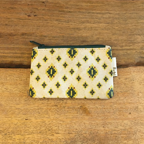 Flat Pouch S*Cambodia Traditional Design (Green)