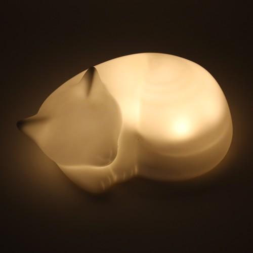 猫ライト(ネルライト置き型ネコ)