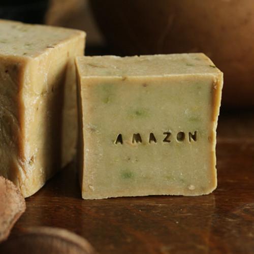 [かゆみ、荒れた肌に100%天然植物せっけん] アマゾン インディオ ソープ ※完全手作り生産・人気商品のため現在入荷待ち
