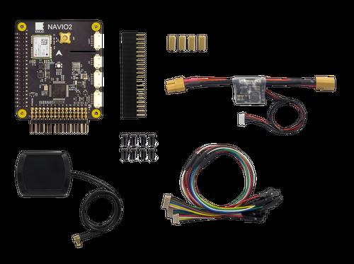 Navio2 RaspberryPi用フライトコントローラーシールドセット