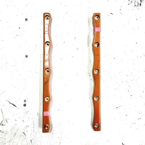 FIRST / 新作レールバー / 2本セット / ネジ付き(10本) / rail bar / orange / オレンジ