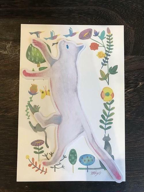 シロヤギ紙企画 ネコカード④