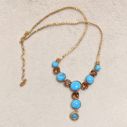 Turquoise desire necklace