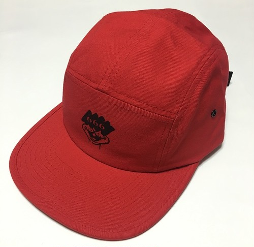 666 BOY CAP(RED)