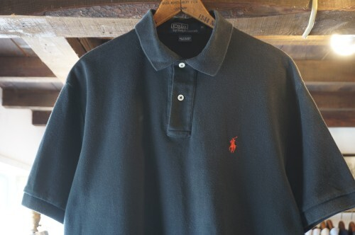 Ralph Lauren black cotton polo Shirt