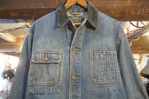 90's POLO COUNTRY by R.L. denim chore Jacket