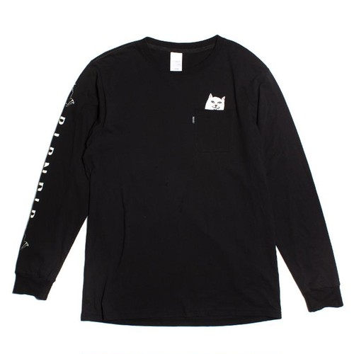 RIPNDIP - Lord Nermal Pocket L/S (Black)