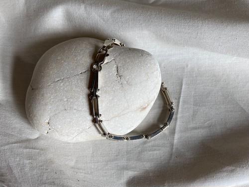 <vintage silver925>chain link bracelet