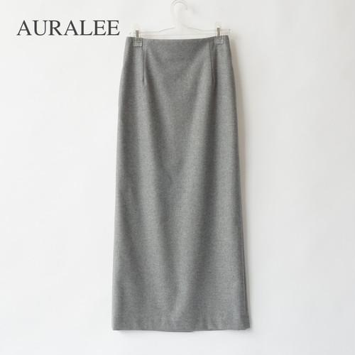 AURALEE/オーラリー ・WOOL FULLING FLANNEL SKIRT