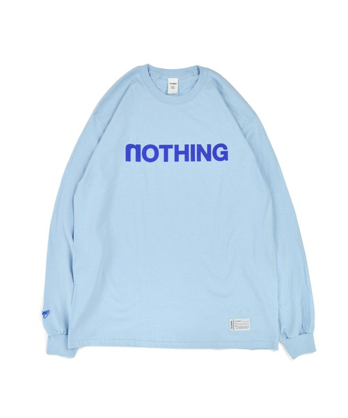 All of L/S Tee (noTHING) / Lt.BLUE (LE)