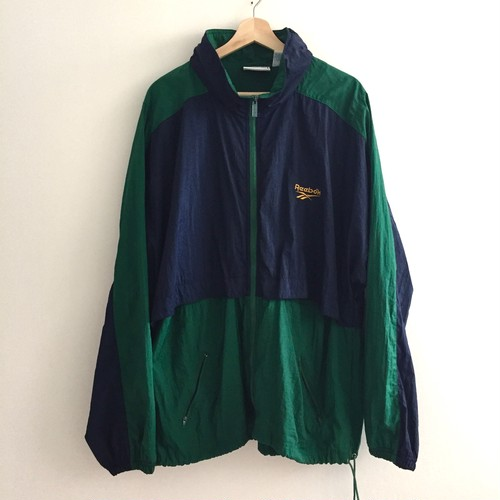 Reebok 90s track jacket Navy x Green