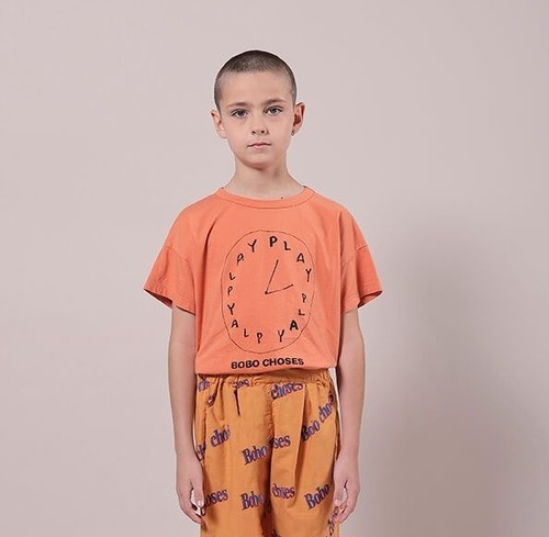 BOBO CHOSES ボボショセス Playtime Short Sleeve T-Shirt size:2-3Y(95-100)~10-11Y(140-150)