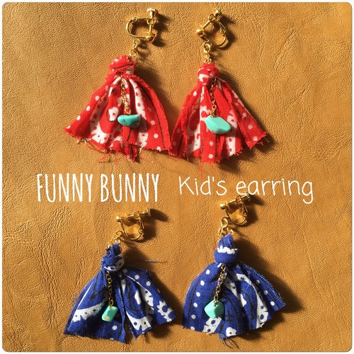Kid's earring ♡