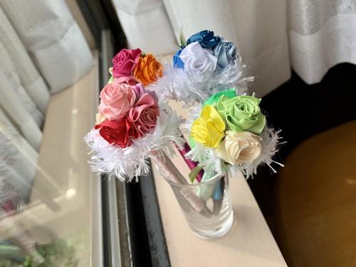 ハワイアンリボンレイ(レシピなし)【薔薇のお姫様のペン キット】