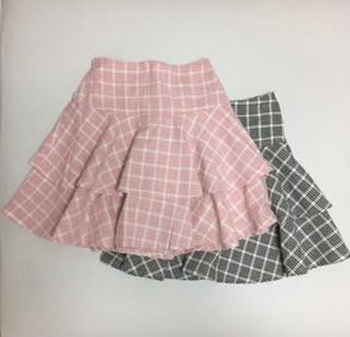 120-140size【SALE】フレアーたっぷりスカート【Schnee】