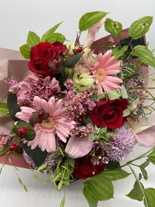 ご来店専用 bouquet ブーケ Mサイズ (レッド・ピンク系)