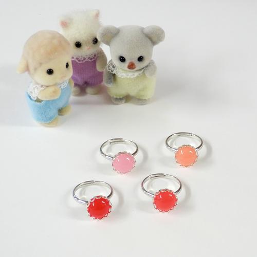 Omocha Ring (赤系)