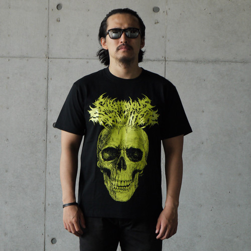 The Defleshed T-shirt Black × Green