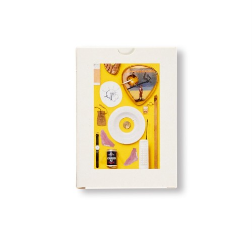 A COLLECTION OF NINE KIPPENBERGER EDITIONS, ONE BOETTI WATCH, A CIGARETTE AND YELLOW|Jonathan Monk