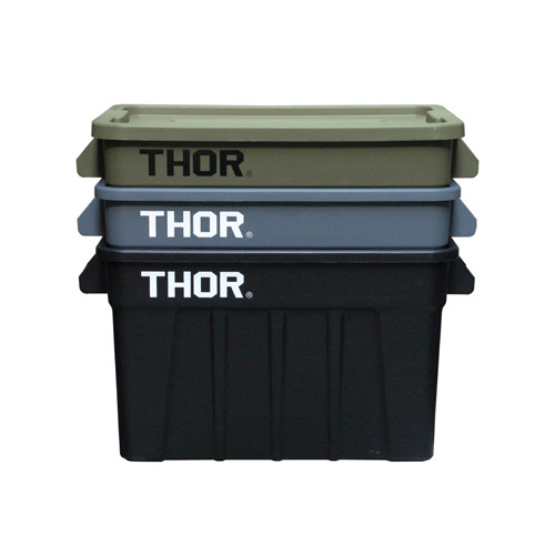 トラスト THOR Large Totes With Lid 75L コンテナ