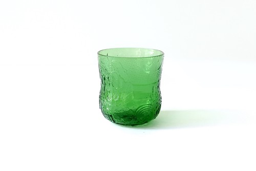 vintage IITTALA FAUNA green glass S / ヴィンテージ イッタラ ファウナ グラス グリーン S