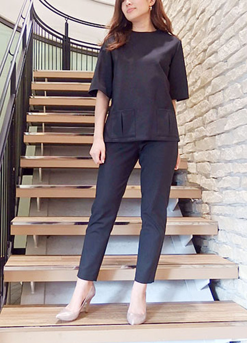 [SALE][送料無料] GREED COTTON STRETCH ロングトップス