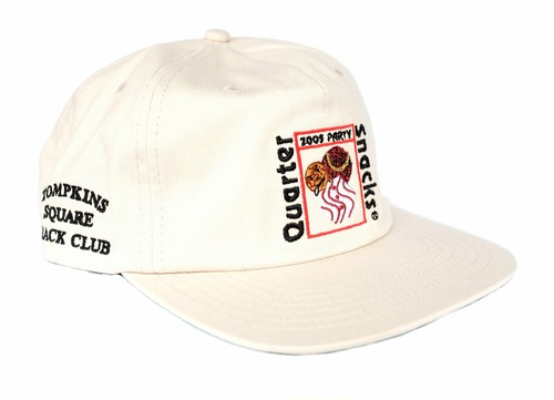 QUARTERSNACKS PARTY CAP WHITE