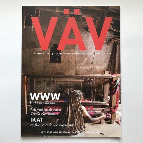 <Used Book> ヴェヴマガジン 古本 / Väv Magazine 2014 NR.2