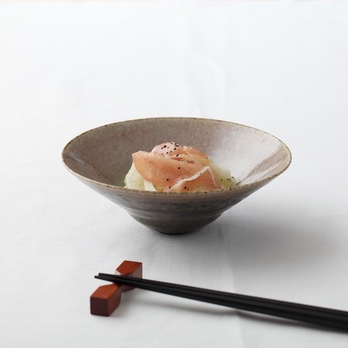 紅彩五寸鉢