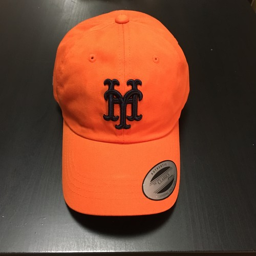 YH Mets Low Cap (Orange×Navy)