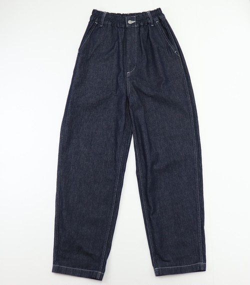 【HARVESTY】DENIM LOOSE TROUSERS INDIGO (UNISEX)