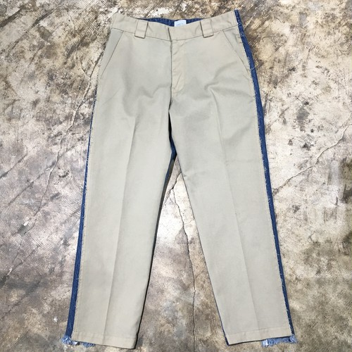 【EFILEVOL】 Denim × Chino Changeover Pants