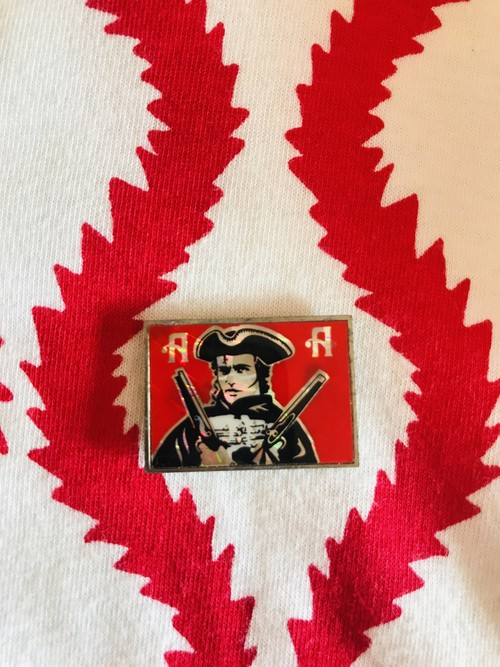 80's Adam and the Ants / メタルバッジ / Vintage Badge