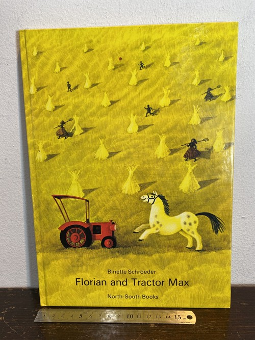 80's洋書絵本 Florian and Tractor Max