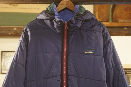 early 90's L.L.Bean PRIMALOFT hooded Jacket