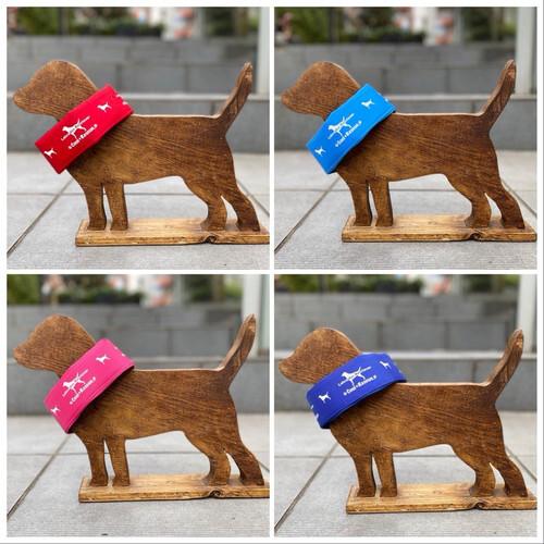 【M】ネッククーラー(Dog + Rescue × Labrador Retriever )【中型〜大型犬】