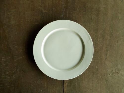 リム皿 1型 白
