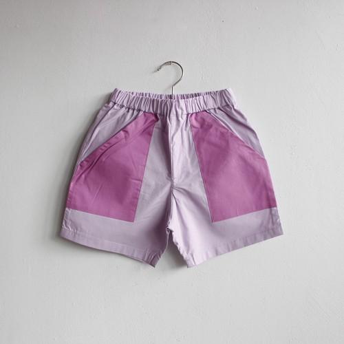 《eLfinFolk 2021SS》typwriter shorts / lavender / 140-150cm