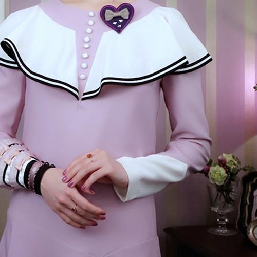 VITA & VIOLET|薄明のアメリアのドレス
