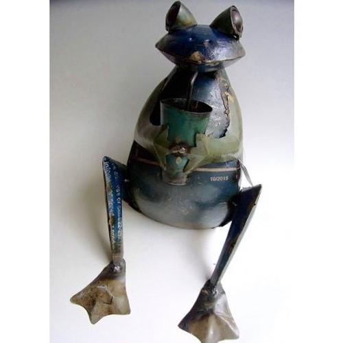 カエルアイアン人形 フロッグウィズグラス MH-2928-160223