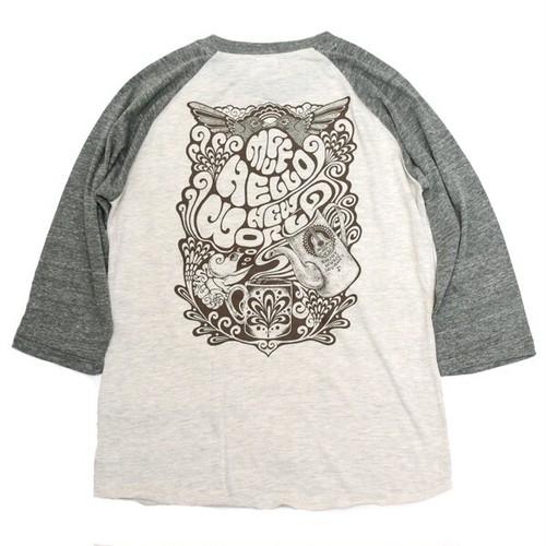 Raglan sleeve 3/4 T-shirts [Muff Tee]