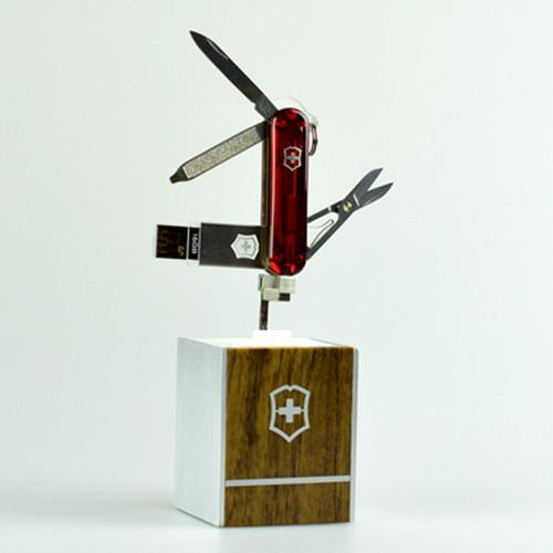 Victorinox @work 16GB ビクトリノックス キャンプ用品 BBQ 登山 万能ナイフ USBフラッシュメモリー ボールペン ナイフ ツールナイフ victorinox-056