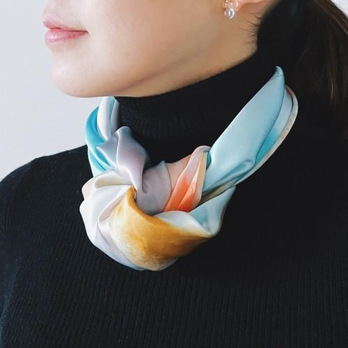 La スカーフ AMAAI -雨間- 53cm