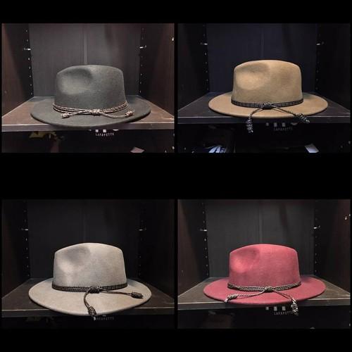 Olive & Pique Wool Felt Hat