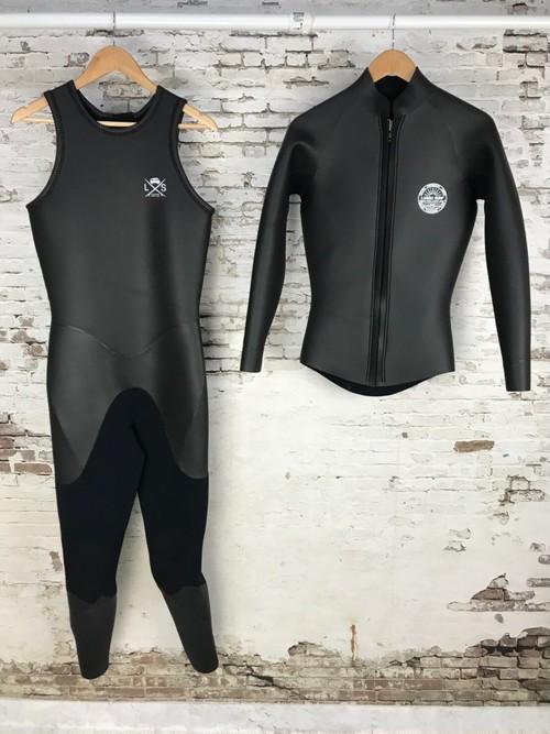 LUSSO SURF Wetsuit ロングジョン+長袖ジャケットセット Skin【Men】