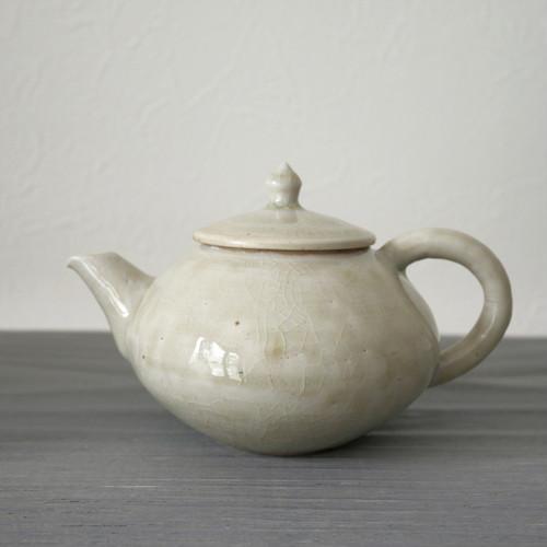 田村文弘|白磁急須 Fumihiro Tamura porcelain tea pot